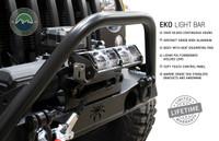 "5010101 Overland Vehicle Systems EKO 10"" LED Light Bar With Variable Beam, DRL,RGB, 6 Brightness.  Jeep Bumper LED Light."