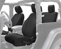 11010101 King 4WD Premium Neoprene Seat Cover Jeep Wrangler JK 2 Door 2013-2018