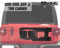 RTG Heavy Duty Tire Carrier - JL 2018-2019 Jeep Wrangler & Wrangler Unlimited