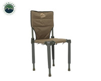 Wild Land Camping Gear - Chair With Storage Bag. Chair Side View 1