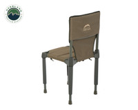 Wild Land Camping Gear - Chair With Storage Bag. Chair Side View 2