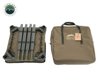 Wild Land Camping Gear - Chair With Storage Bag. Collapsed Chair w/ Carrying Case.