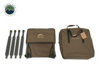 Wild Land Camping Gear - Chair With Storage Bag. Collapsed Chair w/ Carrying Case 2