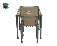 Wild Land Camping Gear - Chair With Storage Bag. Camping Chair and Table Back View