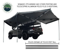 270 awning driver side with poles deployed