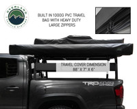 OVS Nomadic Awning 270 Passenger Side - Dark Gray Cover With Black Cover Universal
