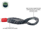 """Combo Pack Soft Shackle 7/16"""" 41,000 lb. and Recovery Ring 4.0"""" 41,000 lb."""