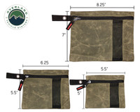 21069941 Small Bag Set of 3 #12 Waxed Canvas