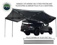 Nomadic Awning 270 Awning & Wall 1, 2, & 3, Mounting Brackets - Passenger Side