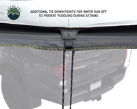 270 Awning Rain Tie down points
