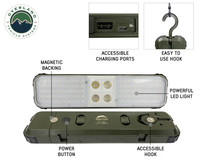 Wild Land Camping Gear - ENCOUNTER Solar Light Pod with Hook and Magnet