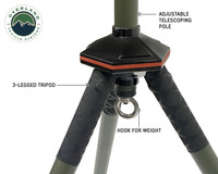 Wild Land Camping Gear- ENCOUNTER Solar Light Tripod