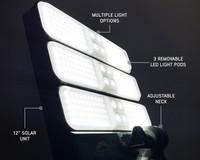 Wild Land Camping Gear - Encounter Solar Light Light Pods.  ENCOUNTER Night time Lighting Closeup