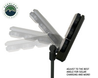 Wild Land Camping Gear -  ENCOUNTER Solar Light  head unit fully adjustable