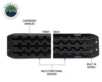 Combo Pack Recovery Ramp & Utility Shovel- More recovery Ramp Specifics