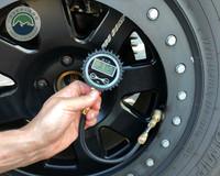 Air Compressor System 5.6 CFM, Digital Tire Deflator and 53 Piece Tire Repair Kit  Combo Kit
