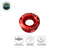"""Recovery Ring 2.5"""" 10,000 lb. Red"""