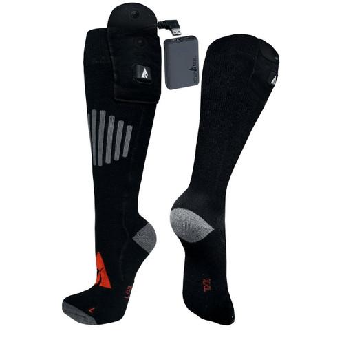 ActionHeat 5V Premium Heated Wool Socks