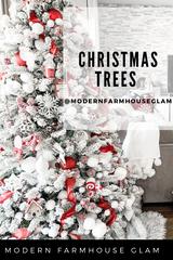 Christmas Trees at Modern Farmhouse Glam