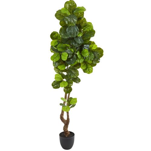 6.5 ft Fiddle fig leaf faux tree