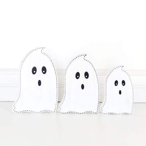Set of 3 Halloween Ghosts