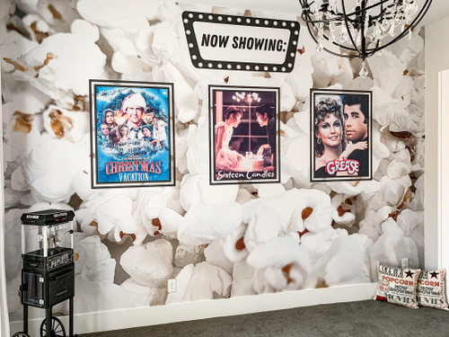 High resolution image used to make our custom Movie Room Wall. This is not the exact image, but shows a wider shot.
