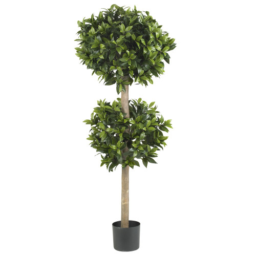 4.75 ft Double Ball Topiary Silk Tree