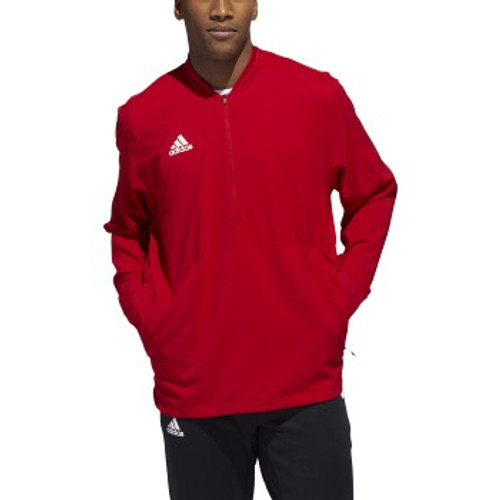 LS 1/4 ZIP-RED