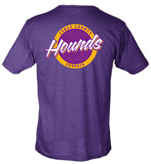 In-Store Only! Jones County Touchdown Club -  Childhood Cancer Awareness | Purple Hounds