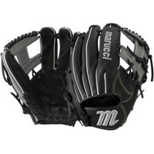 Marucci Oxbow Series Fielder's Glove | Black/Gray