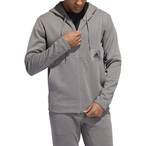 CROSS UP 365 Full Zip Pullover - Grey Heather (8709)