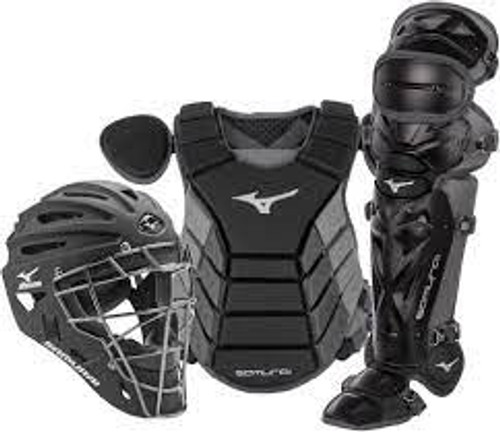 "MIZUNO SAMURAI ADULT 15"" BASEBALL CATCHER'S GEAR BOX SET"