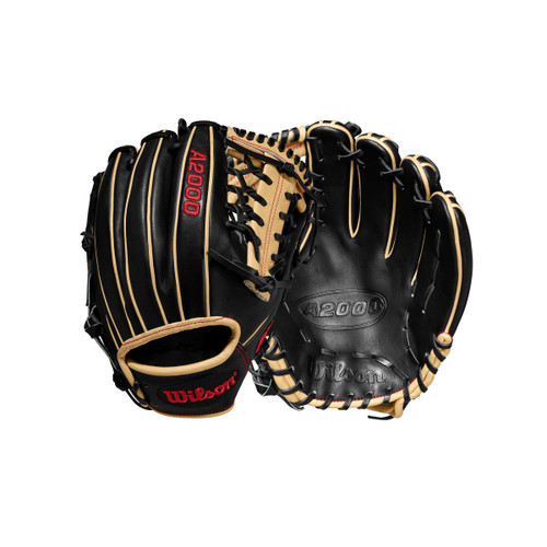 "2020 A2000 1789 11.5"" Infield/Pitcher Baseball Glove BLACK/BLONDE LHT"