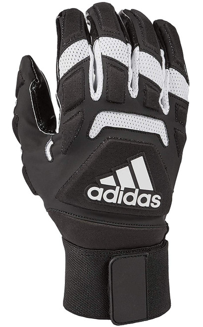 Freak Max 2.0 Padded Lineman Gloves, Black/White