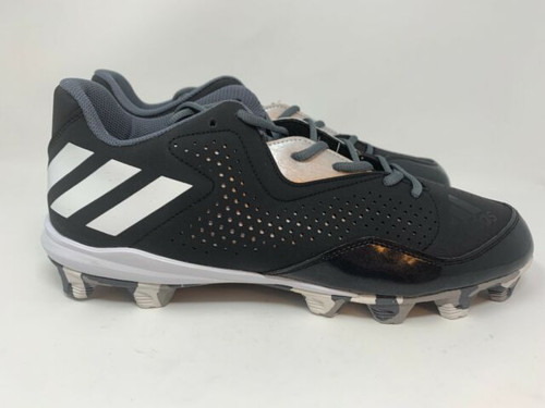 Adidas Wheelhouse 4 Cleats Black White Silver
