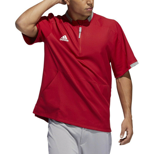 Adidas Men's Fielders Choice 2.0 Cage Baseball Jacket VICTORY RED