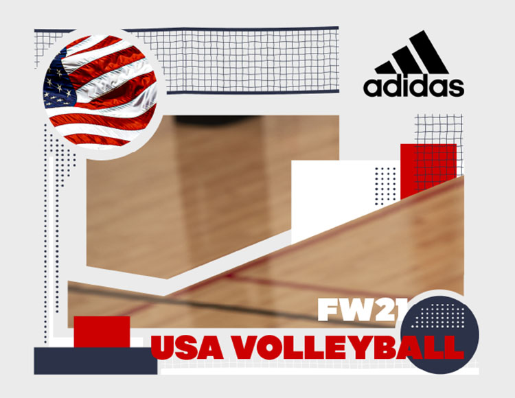 Adidas Digital Catalog, Volleyball, 2020, Knee pads, Shoes