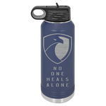 Birdwell Foundation For PTSD No One Heals Alone 32oz. Water bottle