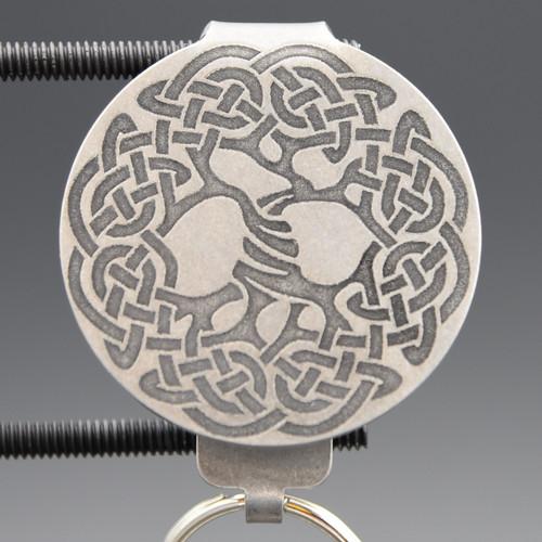 Celtic Tree of Life Pocket Clip Keychain
