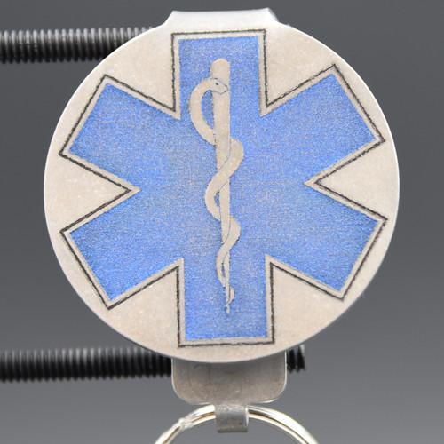 EMT Pocket Clip Keychain
