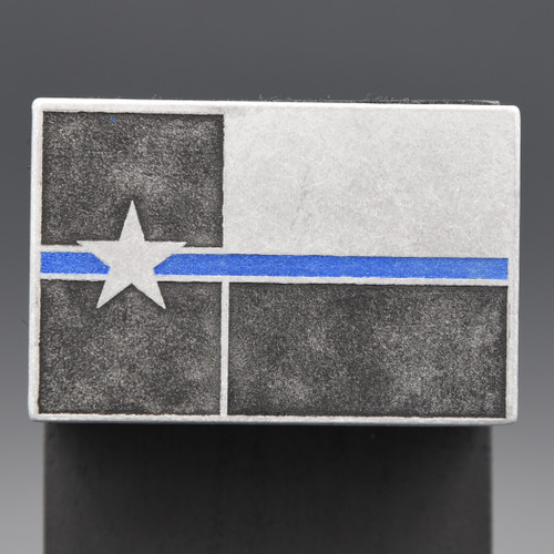 Blue Line Texas Flag