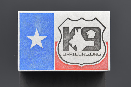 K9 Officers.org Texas Flag Patch