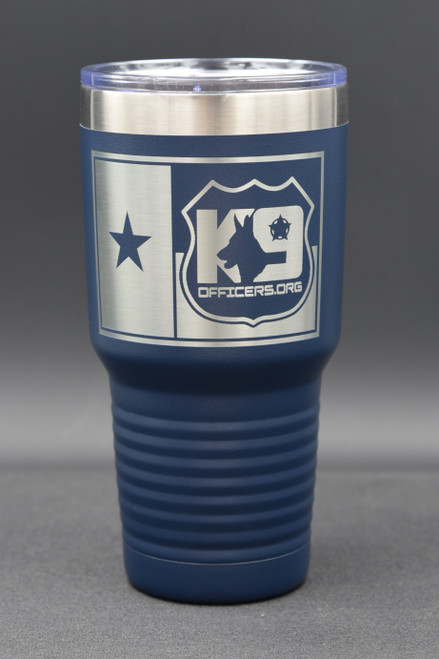 K9 Officers.org 30oz Navy Tumbler