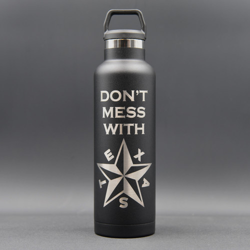 Don't Mess With Texas Star RTIC 20oz  Water Bottle