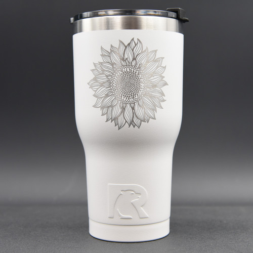 Sunflower RTIC 30oz Tumbler