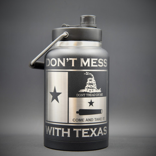 Don't Mess with Texas RTIC 1/2 Gallon Jug