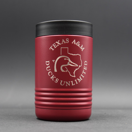 Texas A&M Ducks Unlimited Koozie