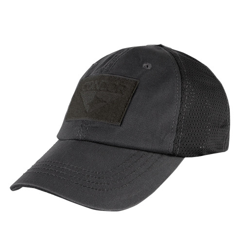 Black Mesh Tactical Hat