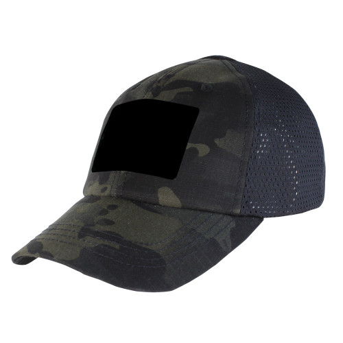 Multicam Black Mesh Tactical Hat