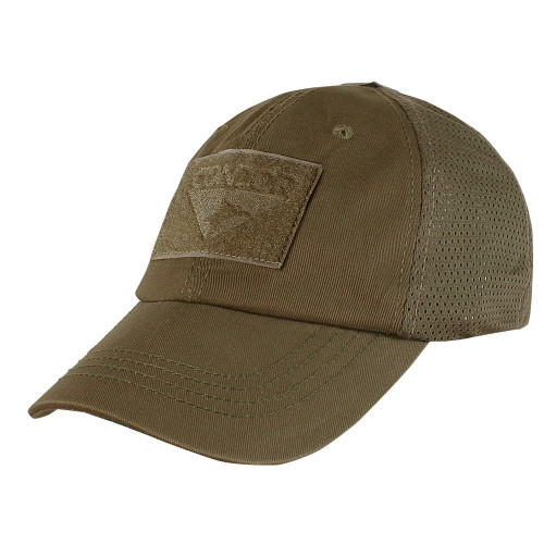 Coyote-Brown Mesh Tactical Hat